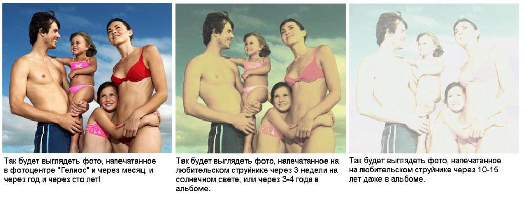 распечатка фотографий: