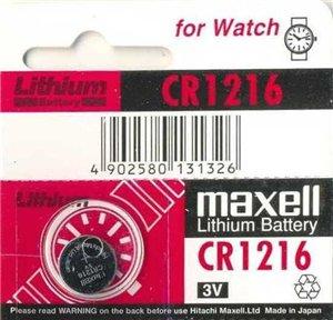 Элемент питания Maxell CR 1216 3V: http://geliosfoto.ru/catalog/detail.php?ID=17435