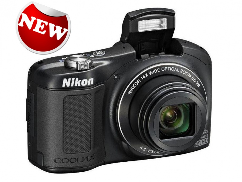 Ф/аппарат NIKON Coolpix L620 Black